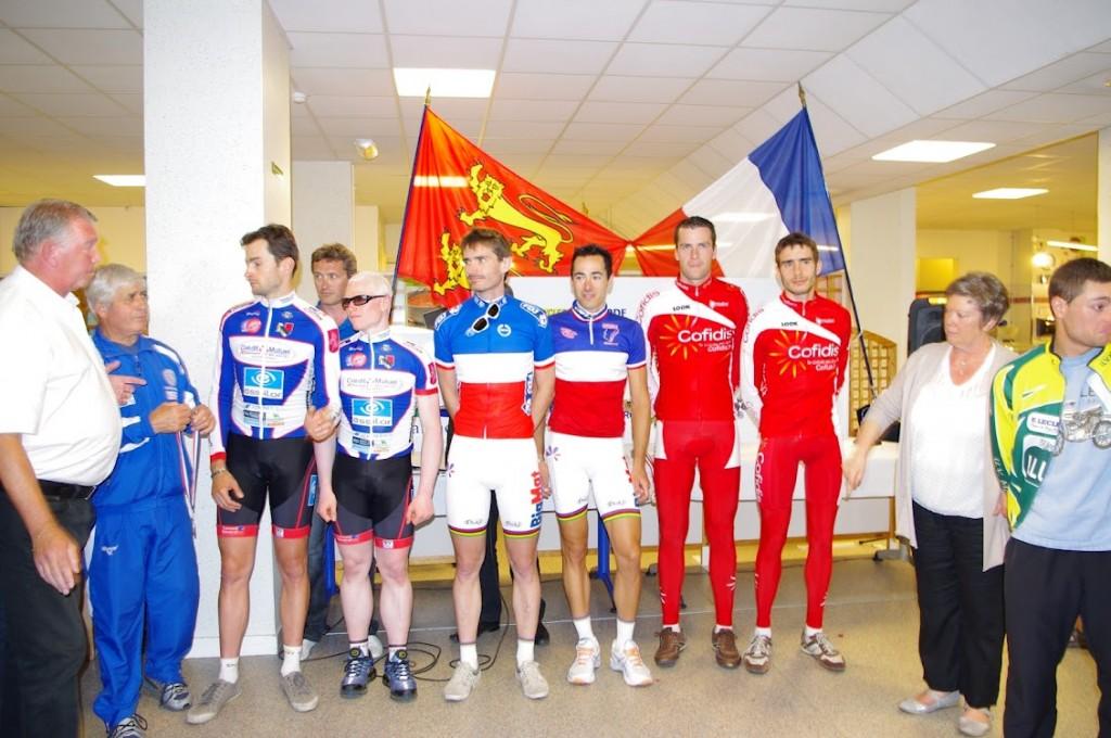 Olivier Donval - champion de France - Bayeux 2012 (Crédit photo : Justine Delannoy)