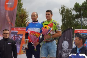 Abdel Kebli champion de France des Club de la Défense le 25 août 2018 sur le circuit Bugatti au Mans.